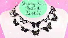 How-To: Shrinky Dink Butterfly Necklace
