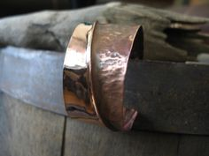 Sensual Chic  Hammered Copper Cuff Bracelet by BeachBooty on Etsy, $42.00