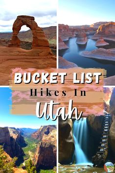 From the towering mountains right from the city of Salt Lake, to the vast canyon hikes and the ever-changing landscapes that make you feel like you are on a different planet, Utah has endless adventures. So here are the top 12 best hikes in Utah that you must add to your bucket list. #Utah #BucketList #BestHikes #Guide