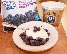 Crockpot Greek Yogurt | Learn How To Make Your Own Yogurt From Flavored To Greek,Vegan Or Plain! With More Easy Tutorials On How To Make Crockpot Yogurt by Pioneer Settler at http://pioneersettler.com/14-homemade-yogurt-recipes-ideas/