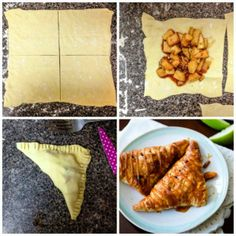 Fall Favorite Apple Recipes / Caramel Apple Turnovers