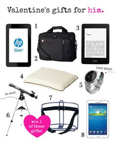 Valentine's Day Gift Guide for Him #giveaway #giftguide #staplescanada