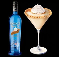 Spice Up and Warm Up to Fall with Pumpkin Pie Vodka #vodka #cocktails trendhunter.com