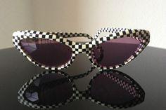 Alain Mikli Vintage '80's Sunglasses Hand Made in France Cat Eyes RARE $249 | eBay