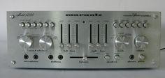 Vtg Marantz Hi Fi Integrated Console Stereo Amplifier Amp Model 1250