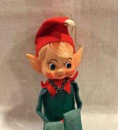Vintage Knee Hugger Elf Pixies  Pointy Ears by VintagePrairieHome