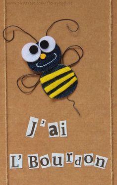 J'ai l'bourdon! #jeans #recycle http://pinterest.com/fleurysylvie/mes-creas-la-collec/ et www.toutpetitrien.ch