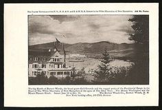 Hotels Ad 1917 Bretton Woods White Mt New Hampshire Golf Grounds Photo Ad