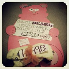 I can bear-ly wait until you're my little! Awee how sweet! Gamma Phi Beta, Alpha Chi Omega, Alpha Sigma Alpha, Sigma Kappa, Phi Mu, Theta, Tri Delta, Delta Zeta, Sorority Recruitment