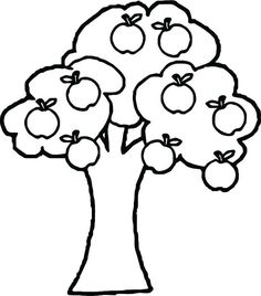 Apple Tree Simple Coloring Pages For Kids - We guess that you will have fun with our apple coloring pictures. Please print out the coloring pictures then color them with your pens. Apple Coloring Pages, Cross Coloring Page, Crayola Coloring Pages, Vegetable Coloring Pages, Emoji Coloring Pages, Fruit Coloring Pages, Paw Patrol Coloring Pages, Tree Coloring Page, Coloring Pages For Girls