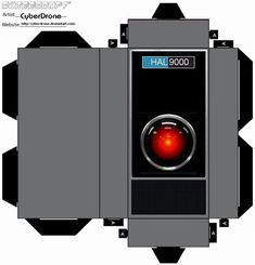 Cubee - HAL9000 by CyberDrone.deviantart.com on @deviantART