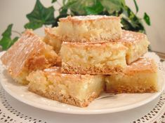 OMG I tried one of these today and had a religious southern experience. | Ooey Gooey Butter Bars (Paula Deen)
