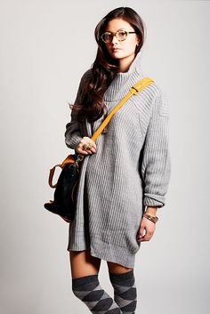 Obsessed with oversized sweaters right now!