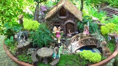 7+ Best Fairy Garden Ideas for Your Inspiration Indoor Fairy Gardens, Fairy Garden Plants, Mini Fairy Garden, Garden Terrarium, Miniature Fairy Gardens, Outdoor Gardens, Moss Garden, Garden Pond, Ficus Pumila