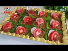 Legendární turecký kebab s fascinující chutí. Je to velmi praktické a mimořádně chutné. - YouTube Turkish Kebab, Corndog Recipe, Corn Dogs, Turkish Delight, Crepes, Pasta Salad, Kebabs, Sweet Recipes, Sushi