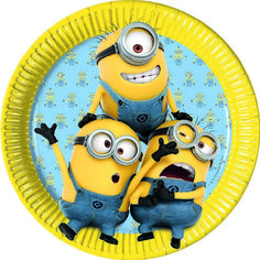 Party Ark's 'Minions Party Plates' perfect for your Despicable Me party Despicable Me Party, Minion Party, Minions Despicable Me, My Minion, Rosa Vintage, Batman Y Superman, Thema Deco, Mickey Mouse, Tea Party Decorations