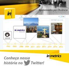 Em 1995 um estudante teve a ideia de oferecer serviços de gerenciamento e desenvolvimento de aplicações. Quer saber a continuação da nossa história? Acompanhe no Twitter: http://twitter.com/inmetrics  #inmetrics #nossahistoria #gestaodeTI