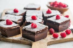 Chocolate Magic Custard Cake Recipe via WhiteOnRiceCouple.com