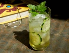 Sweet Cucumber Drink Recipe - The ultimate summer cooling drink. Ingredients  2 oz. Vodka (4 Tbsp. or ¼ cup)  3/4 oz. Agave Nectar (1 ½ Tbsp)  1/2 oz. Lime Juice (1 Tbsp)  6 Slices of Cucumber  2 sprigs of Mint  Club Soda or sparkling mineral water