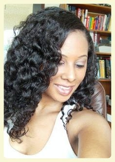 The Best Braid Out Ever On Relaxed Hair  Read the article here - http://www.blackhairinformation.com/general-articles/best-braid-ever-relaxed-hair/