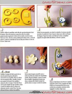Fairy Baby Carriage Tutorial - could be a great display for clay babies, too.
