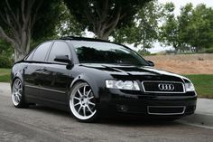 The husbands new car...his dream to have an Audi realized at last
