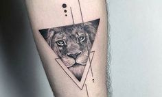 Tatuajes de leones en el brazo: recopilación de diseños - https://www.tatuantes.com/tatuajes-de-leones-en-el-brazo/ #tattoo