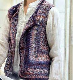 Crochet: Crochet vest                                                                                                                                                                                 Más