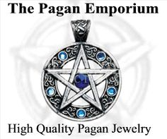 Here at The Pagan Emporium we carry the most exceptional and unusual pendants, charms, greeting cards, & unique gifts available in the market.  Browse our collection of sterling silver Celtic and Wiccan jewelry; Magical Charms; Key of Solomon Amulets & Talismans; Gothic Fantasy Jewelry; Viking charms; Ancient Egyptian Amulets; New Age & Fantasy Greeting Cards; Divining Rods; Reiki jewelry; VooDoo Charms; Magic Spell Kits, Rune Stones, Witch Stones, Pendulum Kits; Tarot Bags & more.