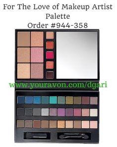 Your makeup routine just got easier!  Avon For The Love of Makeup Artist Palette https://www.avon.com/product/for-the-love-of-makeup-artist-palette-56828?rep=dgari #makeup #avon #palette #beauty