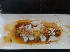 Laminas de bacalao guisadas del Restaurante Sukam de Las Arenas, Getxo