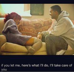 Rihanna and Drake Instagram 5