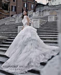 #weddingdress#AlessandroAngelozziCouture#BiancaBalti#wedding