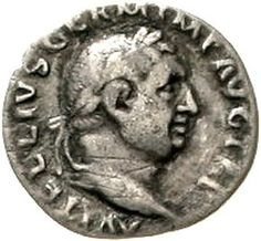 Vitellius 69. Denar 69, Rome. Bel. Head r. / PONTIF MAXIM. Vesta sitzt r., keep Patera and scepter. RIC 107. very fine, small scratch - - Dealer Teutoburger Münzauktion & Handel GmbH - Auction Minimum Bid: 100.00 EUR