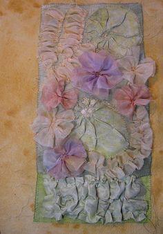 Mixed Media Artist: Manipulated fabrics - part three