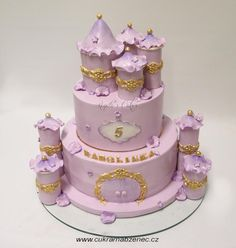 Pink Castle - Cake by Renata
