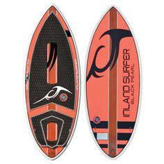 Inland Surfer Black Pearl Wakesurf Board 2016  #wakesurf #wakesurfing #inlandsurfer