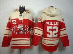 13ff9c40506d Nike San Francisco 52 Patrick Willis Red NFL Hoodie in www.