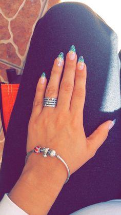 Perfect acrylic nails!