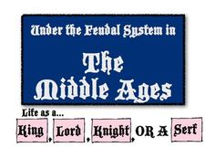 Life in the Middle Ages:  Detailing European Feudalism in First-Person Accounts!  Tons of fun!
