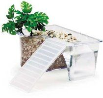 Lees Aquarium Reptile Retreat Kit //  Description A vacation oasis for lizards, hermit crabs, small turtles, tarantulas, newts and other small animals.;Reptile Ranch Kit makes an ideal insert for terrariums.;A built-in tunnel provides security and shelter for your pet.Size 6-1/8 Long x 4-1/4 Wide x 3-1/8 HighPackaging Box //   Details   Sales Rank: #161497 in Pet Products  Brand: Lee's Aquarium Di// read more >>> http://Yetter435.iigogogo.tk/detail3.php?a=B001F97DZA