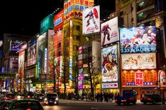 Akiba is Japan's sprawling strip where J-Pop blares constantly, girls dressed as French maids entice you up to 5F to play GameCube games with them, and everyone's lost and found at the same time.