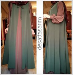 Buda mükemmel bir model , - Pregnacy and moms Islamic Fashion, Muslim Fashion, Modest Fashion, Fashion Dresses, Muslim Dress, Hijab Dress, Hijab Outfit, Kimono Outfit, Modest Dresses