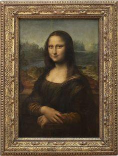 """""""Portrait de Lisa Gherardini, épouse de Francesco del Giocondo"""", dite Monna Lisa, la Gioconda ou la Joconde. Léonardo Da Vinci (Vers 1503 - 1519) Département des Peintures : Peinture italienne © 2007 Musée du Louvre / Angèle Dequier"""