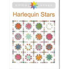 HARLEQUIN STARS Quilt Pattern  by by TuppysAussieFabrics on Etsy