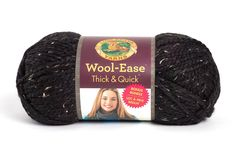 Wool-Ease Thick & Quick at Lion Brand Yarn in Obsidian Baby Beanie Crochet Pattern, Crochet Bear, Crochet Baby Booties, Crochet Blanket Patterns, Baby Blanket Crochet, Baby Patterns, Free Crochet, Free Knitting, Lion Brand Wool Ease