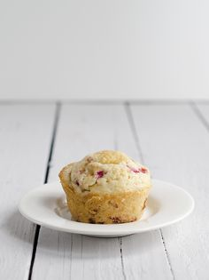 Strawberry Rhubarb Muffins. Soon my rhubarb will be ready and these are on the agenda