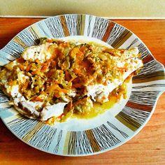#obiad #leszczykzłowionymężaręcami#rybka#warzywa#dinner#fish #bream#vegetables