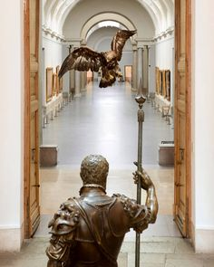 El Furor de las Águilas (Sala 1), Leone y Pompeo Leoni, Carlos V. Main Hall, The Prado Museum. Madrid.
