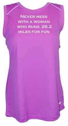 Best running shirts ever! Still our best selling saying for 26.2 and 13.1. Makes a great gift for a runner!